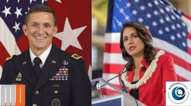 Intervista esclusiva a Flynn e appello di Gabbard per la grazia ad Assange e Snowden